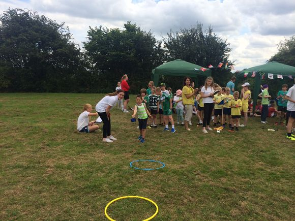 Sports Day fun at Smalley