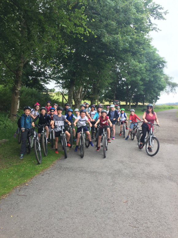 Year 6 Bike Ride 2016!