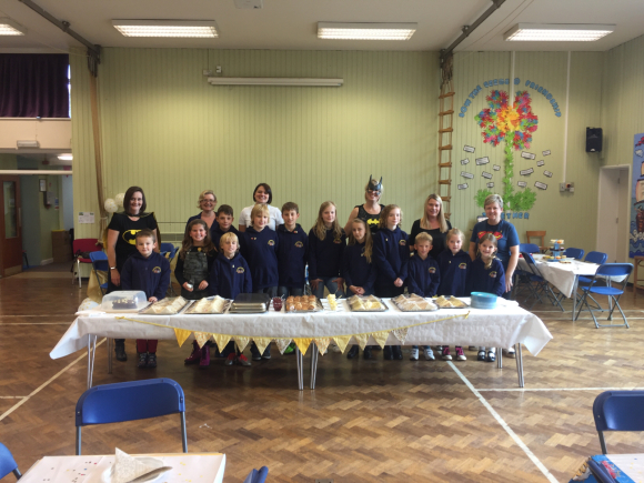 School council set up afternoon tea!