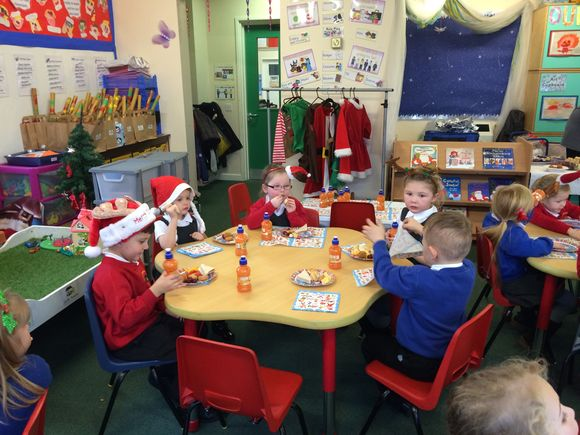 Class R Christmas Party
