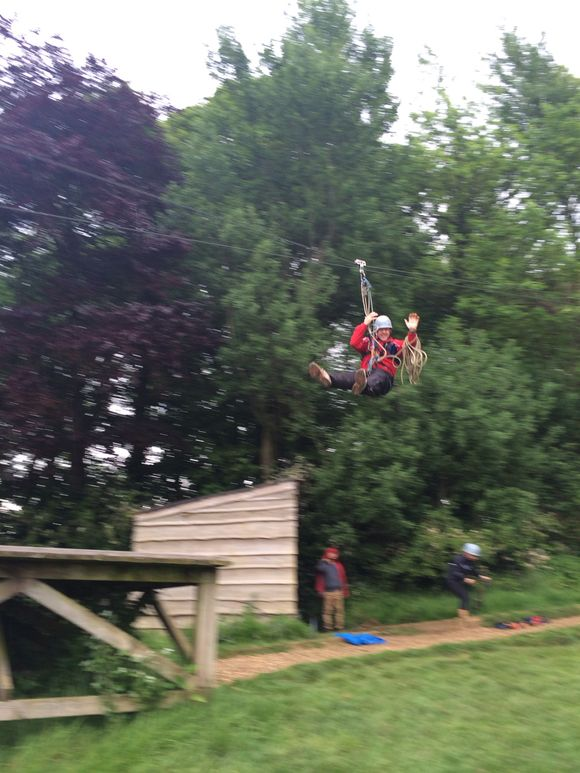 Zip Wire - Flying without wings!