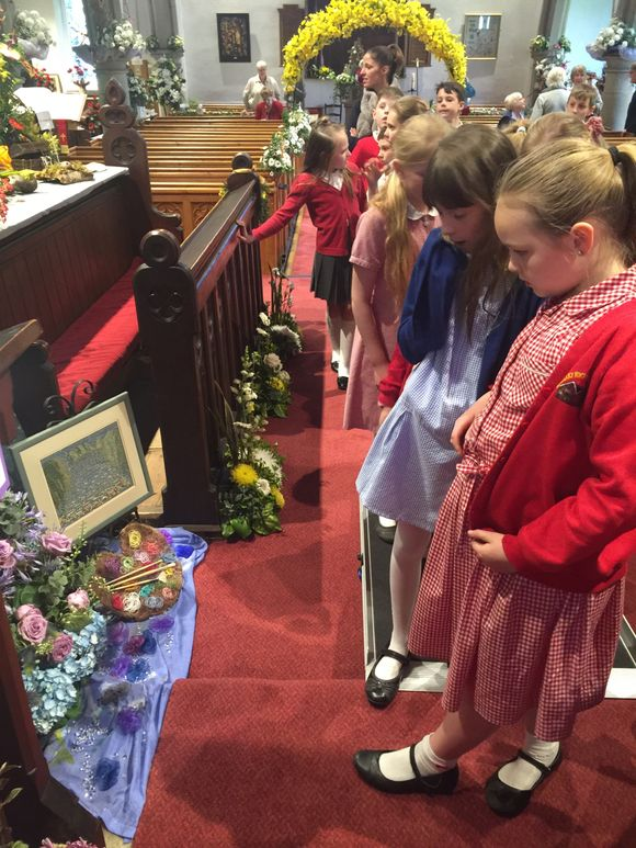Visits to Church - Smalley Flower Festival!