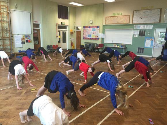 SATs Yoga 2016!