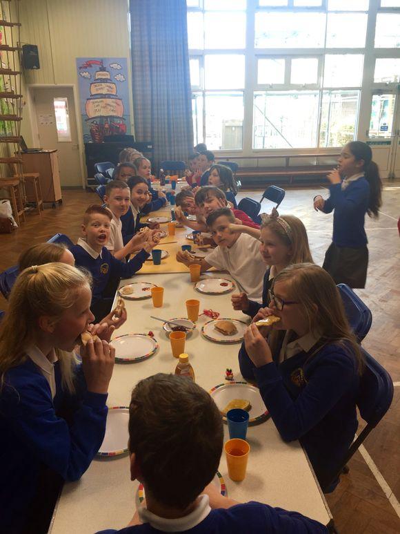 SATs breakfast!