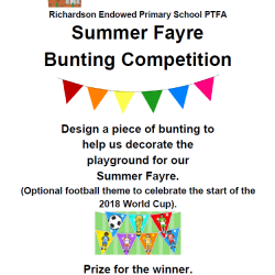 PTFA Bunting Competition 2018