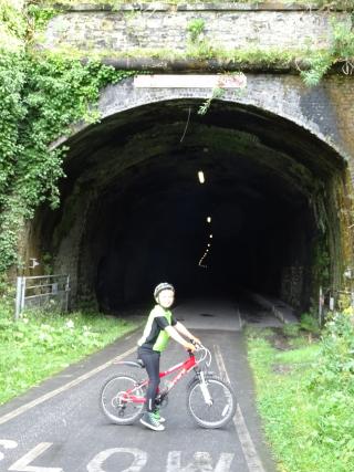 Theo bike ride